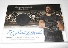 Mortal Instruments Autograph Costume Trading Card#AWI-RMI Robert Maillet Variant