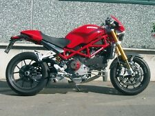 Ducati Monster S4RS / S4R (ab 2007) Auspuff EX-BOX VA glasgeperlt QD Exhaust