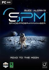 Buzz Aldrin's Space Program Manager PC DVD NEW!