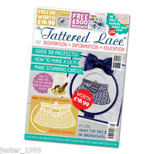 Tattered Lace Magazine Issue 29 Stephanie Weightman Free Vintage Handbag Die