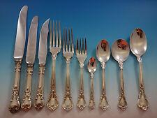 Chantilly by Birks Canada Sterling Silver Flatware Set 8 Service 86 Pcs Dinner