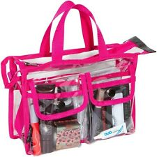 Stilazzi Small Pink Trim Pro Set Bag Professional Makeup Beauty Artist Kit