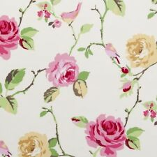 Clarke and Clarke Agatha Summer Floral Design Curtain Upholstery Craft Fabric