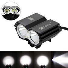 SolarStorm 6000 LM 2xCREE T6 LED Tête Torche avant Vélo Lumière Bicyclette Phare