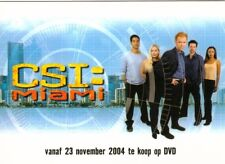 CSI Miami Series 1 Netherlands Promo Trading Card IHE-1 from Strictly Ink