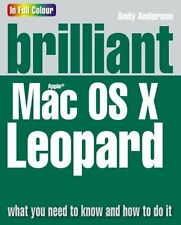 NEW BOOK Brilliant Mac OSX Leopard 2ND QUALITY