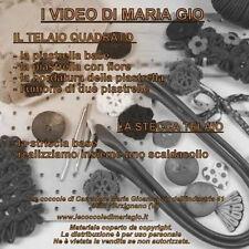 Telaio Maria Gio DVD stecca telaio per da maglieria lana il telaietto