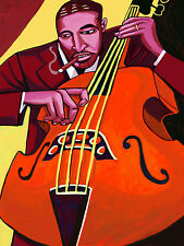RAY BROWN CIGAR PRINT poster jazz bass poll winners cd trio session kessel manne