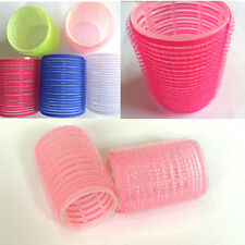 New 6pcs Large Hair Salon Rollers Curlers Tools Hairdressing tool Soft DIY YXF