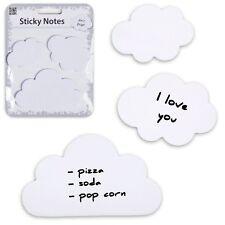 Post-it nuage - Bloc-notes papier - Stickers nuages lot de 3 Sticky Cloud notes