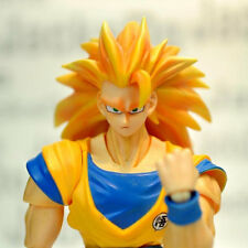 JacksDo SHF Dragon Ball Son Goku Super Saiyan III Head (no body) for Bandai doll
