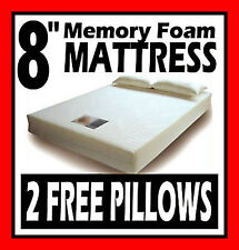 """8"""" KING SIZE MEMORY FOAM MATTRESS +FREE COVER + FREE PILLOWS + FREE DELIVERY"""