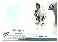 10/11 SP AUTHENTIC SP ESSENTIALS #162 Phil Esposito #887/1999