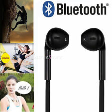 Wireless Bluetooth 4.0 Headset Sports Stereo Handsfree Headphone For iPhone HTC