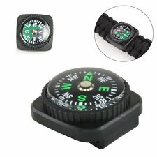 Bracelets Rope Compass Slip Slide on Watch Band Wrist For Survival Paracord