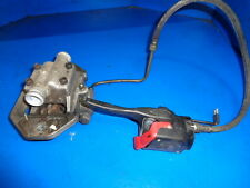 POLARIS RMK 800 2002 BRAKE MASTER CYLINDER WITH CAIPER AND HOSE ALL GOOD USED