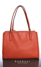 Pre-owned COACH Madison Christie Carryall in Saffiano Leather Tote Bag Loganberr