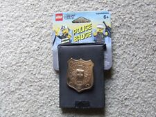 * New * ( Metal ) Lego City Police Badge Item. 4297425 ( Year 2006 ) Rare