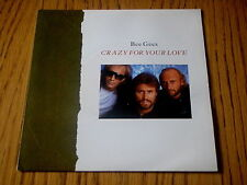 "BEE GEES - CRAZY FOR YOUR LOVE     7"" VINYL PS"