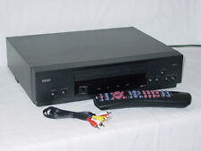 RCA VR519 4-Head VHS VCR Video Cassette Player w/ Remote D770 & AV Cable