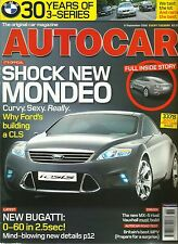 Autocar 6th September 2005, Ford Iosis, 9-3, Solstice, 3-series, ZT 260, Mazda 5