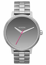 Nixon Kensington A099-2633 Mirror/Silver Stainless Steel Analog Quartz Women's