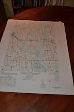 1940's Army topographic map Savannah  New York -Sheet 5670 III SE
