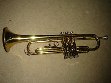 PEARL RIVER BRASS TRUMPET W/ MOUTHPIECE IN VERY GOOD CONDITION