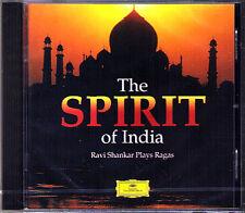 Ravi SHANKAR: THE SPIRIT OF INDIA Raga Jogeshwari Hameer CD SITAR Rakha Jiban