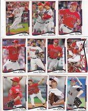 2014 LOS ANGELES ANGELS 40 Card Lot w/ TOPPS MINI Team Set 21 PLAYOFF Players