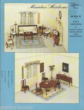 Minature Heirlooms 2 Kay's Creations Dollhouse Counted Cross Stitch Pattern Book