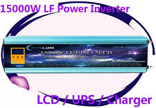 60000W/15000W LF Pure Sine Wave 48VDC/110VAC 60Hz Power Inverter LCD/UPS/Charger