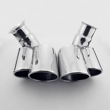 Dual oval Exhaust tip tailpipe for Porsche 911 Carrera C2 C4 996 1997-2006