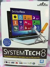 SystemTech 8 Software Disc & Download Windows 7,8,Vista, XP Summitsoft