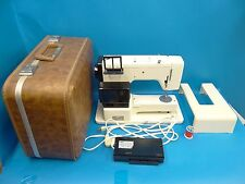 Vintage Used Pfaff 211 Made in Western Germany White Sewing Machine w/ Case Old