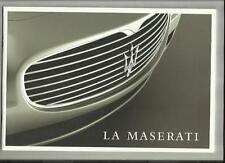 MASERATI QUATTROPORTE,COUPE, SPYDER & MORE SALES BROCHURE @2004 ENGLISH LANGUAGE