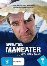 Operation Maneater - Mark Evans DVD NEW