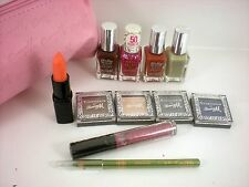 Barry M 12pc makeup / nail paint ladies gift set bag ...no 1