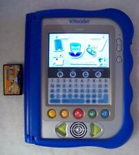 "VTECH V. READER ANIMATED Learning SYSTEM BLUE  WITH ""What's That Noise?"" Game"