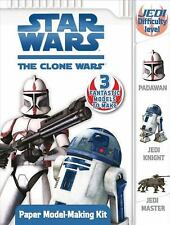 Paper Model-Making Kit (Star Wars: The Clone Wars)-ExLibrary