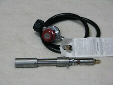 Goede stainless steel propane foundry/forge burner,with 0-30 regulator US made.