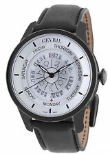 Gevril 2005 Columbus Circle Watch Astrological Symbols NEW $4495 Only 250 made!