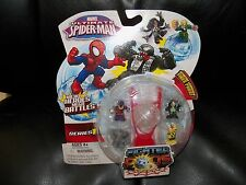 Marvel Ultimate Spider-Man Fighter Pods Series 1 With Gray Character in it NEW