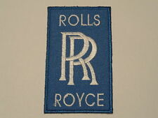MOTORSPORTS RACING CAR SEW ON / IRON ON PATCH:- ROLLS ROYCE (a) LIGHT BLUE