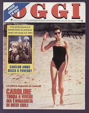 OGGI 3/1991 ALBERTO TOMBA RICCHI E POVERI MARTA FLAVI MINO DAMATO CUCCARINI