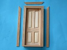 1/12 scale Dolls House  Internal 4 Panel Door   CV125