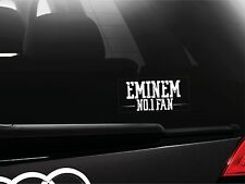 Eminem No1. Fan Sticker Car Bumper Window Sticker