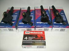 98-2011 CROWN VIC MARQUIS TOWN CAR 4 AC DELCO COIL & 4 MOTORCRAFT PLUGS SP447