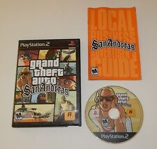 PS2 Grand Theft Auto San Andreas Black Label