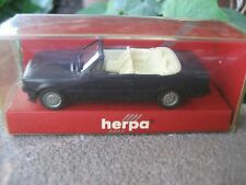 Herpa Miniature Black BMW 328I #3059 Cabriolet Exact 1:87 Scale Collectible Car